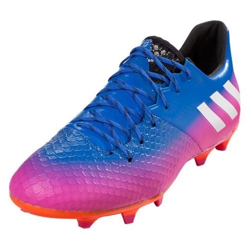 adidas Messi 16.2 FG - Blue/Ftwr White/Solar Orange BA9145