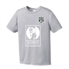 Lee County Strikers Youth Training Jersey - Silver ST350SYLC