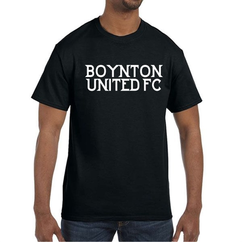 Boynton United T-Shirt - Black  BU-Tee
