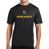 Jupiter United Short Sleeve Performance Shirt - Black ST350-JUBlk