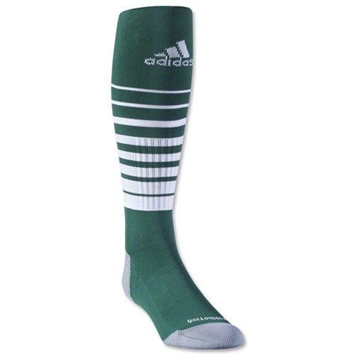 adidas Team Speed Soccer Sock - Green/White 5130266GrnWhi