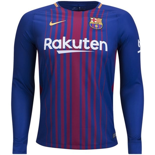 new styles 874e3 29595 fc barcelona long sleeve jersey 2017