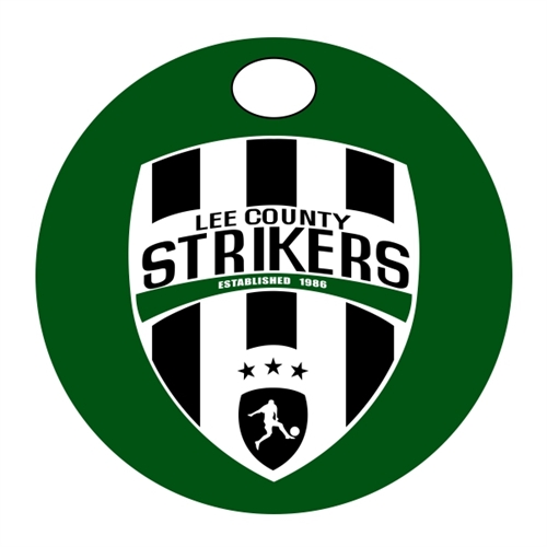 Lee County Strikers Bag Tag Lee-Bagtag