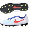 Nike Junior Magista Ola II FG - White/Bright Crimson/Racer Blue/Volt 844204-164