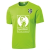 Lee County Strikers Training Jersey - Lime Shock ST350LLC