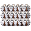 Select Club Ball - White/Orange 18 Pack 02-559-855-18Pck