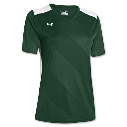 Under Armour Women's Fixture Jersey - Dark Green 1247791Drk