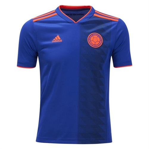 adidas Colombia Youth Away Jersey 2018 BR3493