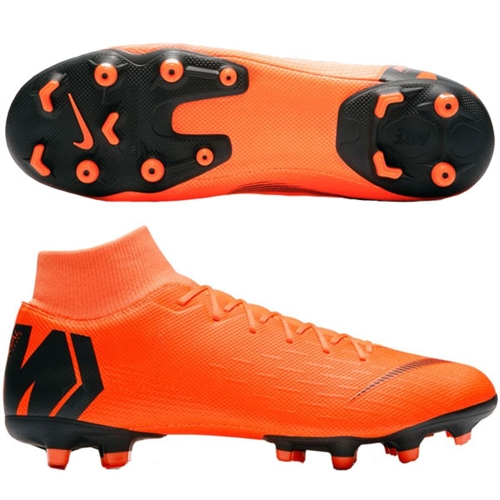 Nike Mercurial SuperFly VII Academy MG - Total Orange/Black AH7362-810