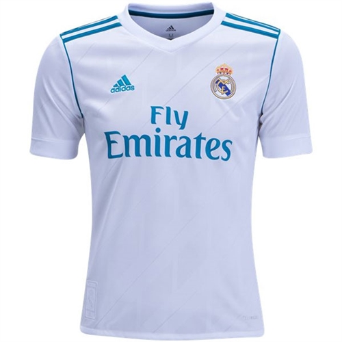 adidas Real Madrid Youth Home Jersey 2017-2018 B31111