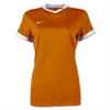 Nike Women's SS Striker IV Jersey - Orange 725950Ora