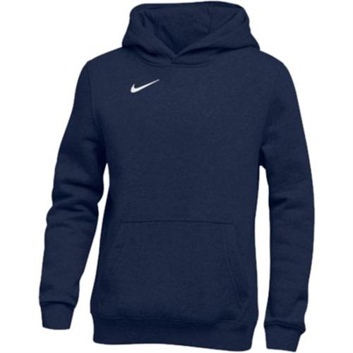 Nike Youth Pullover Fleece Hoodie - 836308-419 ...