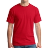 Gildan 5000 Cotton T-Shirt - Red G5000Red