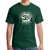 Lee County Strikers 30th Anniversary T-Shirt - Forest Green Lee-30Tee