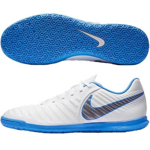 sneakers for cheap 49a4f a5054 Nike Tiempo LegendX VII Club IC - White Blue Hero Indoor AH7245-107