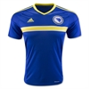 adidas Bosnia and Herzegovina Home Jersey 2015-2016 AC6614