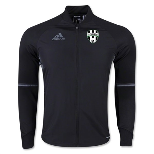 Lee County Strikers adidas Condivo 16 Training Jacket - Black LCS-S93552