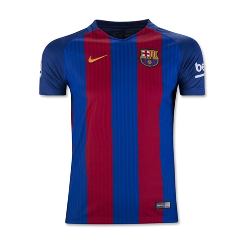 Nike Barcelona Youth Home Jersey 2016-2017 777029-481