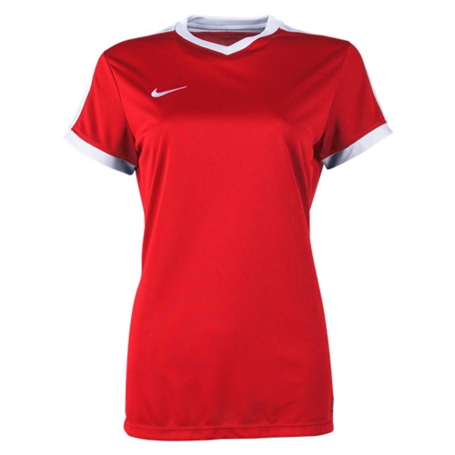 Nike Women's Striker IV Jersey - Red/White 725950-657