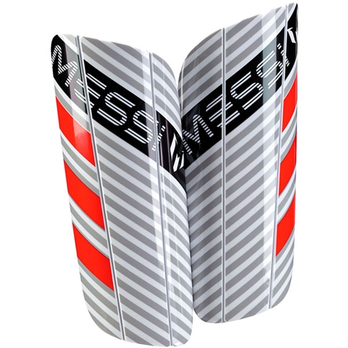 adidas Messi10 Lesto Shinguard - White/Red BR5319