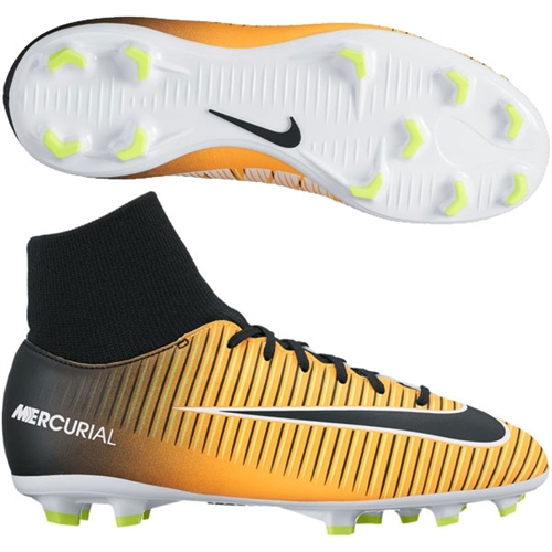 Nike Junior Mercurial Victory VI DF FG - Laser Orange/Black 903600-801