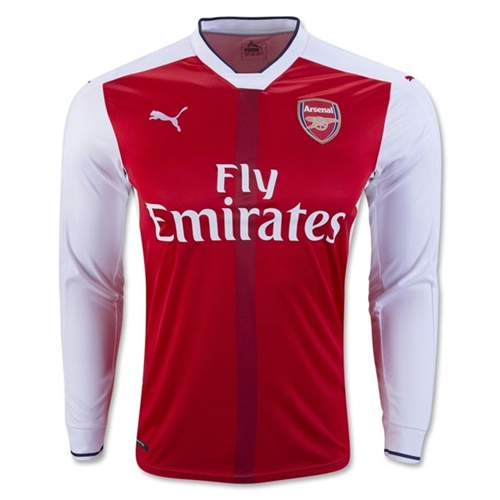 Puma Arsenal Long Sleeve Home Jersey 2016-2017 749713-01