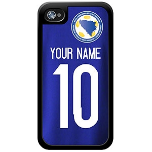 Bosnia and Herzegovina Custom Player Phone Cases - iPhone (All Models) iph-bos-plyr
