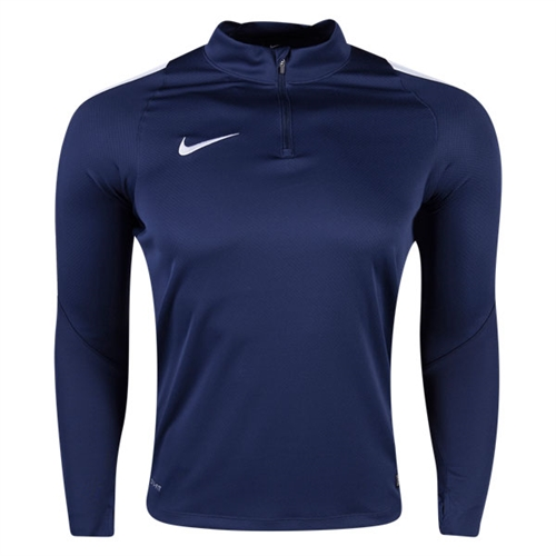 Nike Squad 16 3/4 Zip Jacket - Navy 725942-419