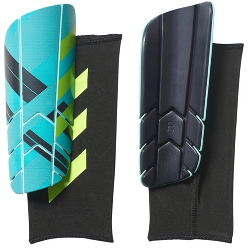 adidas Ghost Pro Shin Guard - Blue/Navy - NOCSAE Approved BS4149