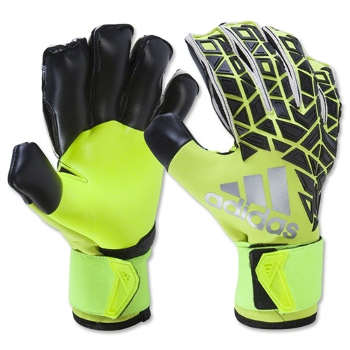 adidas ACE Trans Fingersave Pro Glove - Black/Yellow AP6991