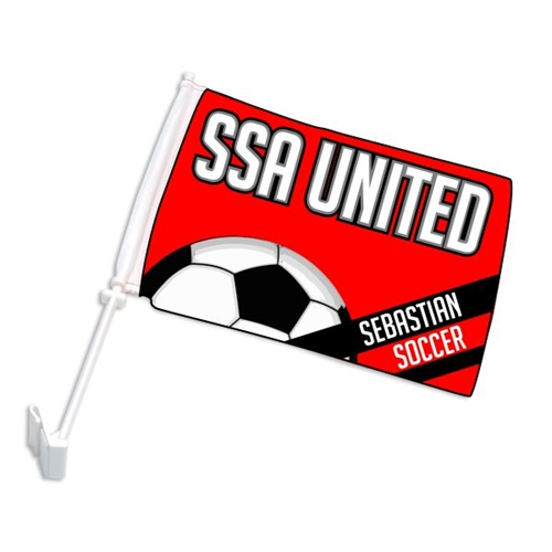 SSA United Car Flag SSACar
