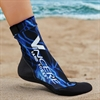 Sand Socks - Blue Lightning SSBLL
