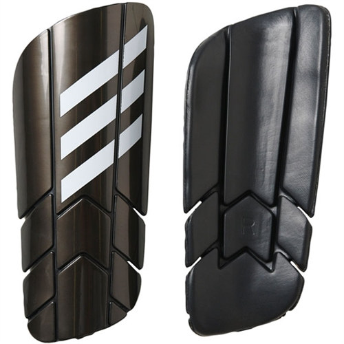adidas Ghost Pro Shin Guard - Black/White - NOCSAE Approved AZ9882