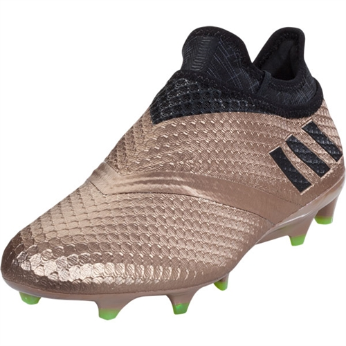 adidas Messi 16+ Pureagility FG - Copper Metallic/Black BA9821