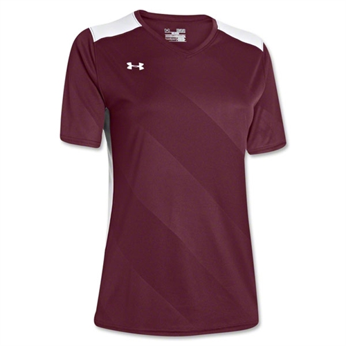 Under Armour Women's Fixture Jersey - Maroon 1247791Mar
