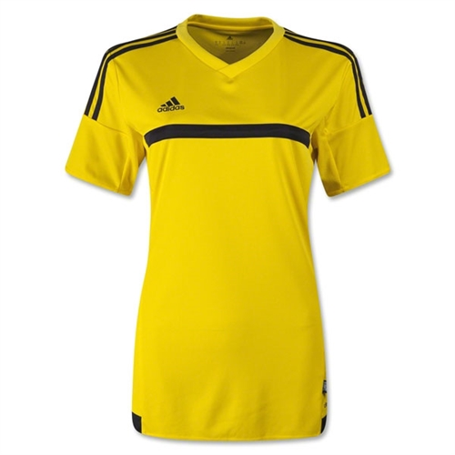 adidas Women MLS 15 Match Jersey - Yellow S92431
