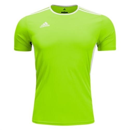 adidas Youth Entrada 18 Jersey - Solar Green/White CE9755