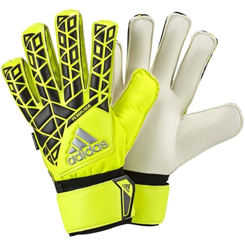 adidas ACE Fingersave Replique Goalkeeping Gloves - Solar Yellow/Black/Onix AP7000