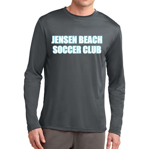 Jensen Beach Long Sleeve Performance Shirt - Grey Jen-LPTee