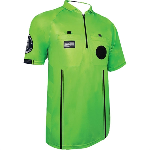 Official Sports USSF Pro Referee Jersey - Green 9078