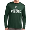 Lee County Strikers Long Sleeve Performance Shirt - Forest Green Lee-GLPTee