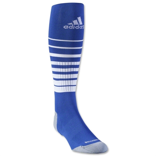 adidas Team Speed Soccer Sock - Blue/White 5130165BluWhi
