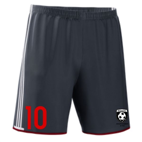 Massive adidas Boy's Condivo Short - Dark Grey/White MassAdiConShoGry