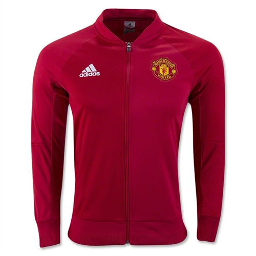 adidas Manchester United Anthem Jacket  2016-2017 - Red AP1793