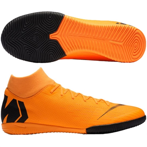 Nike Mercurial SuperflyX VI Academy IC - Total Orange/Black Indoor AH7369-810