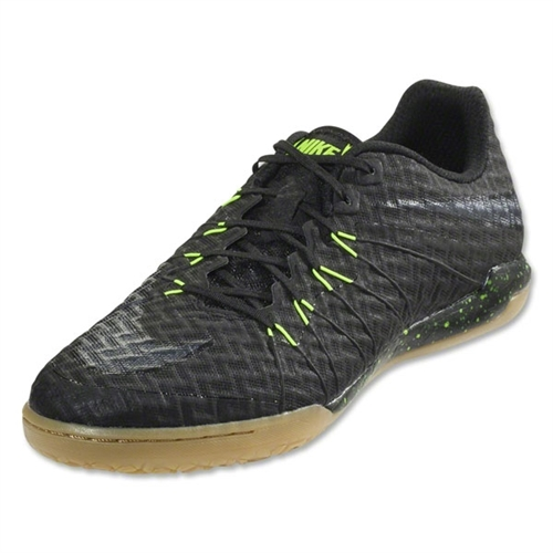 Nike Hypervenom Finale IC - Black/Black/Volt/Gum Light Brown Indoor 749887-007