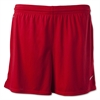 Nike Women's Hertha Knit Shorts - Red 456271Red