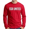 SSA United Long Sleeve T-Shirt - Red SSALTee