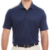 adidas Men's 3-Stripes Shoulder Polo - Navy A233-Navy