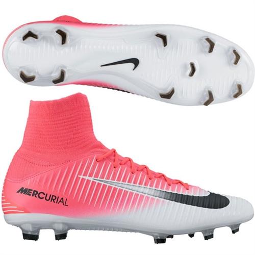 Nike Mercurial Veloce III DF FG - Racer Pink/Black/White 831961-601